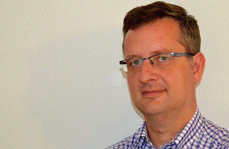 Antonio Barnés, profesor de Literatura