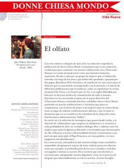 Portada Donne Chiesa Mondo abril 2019