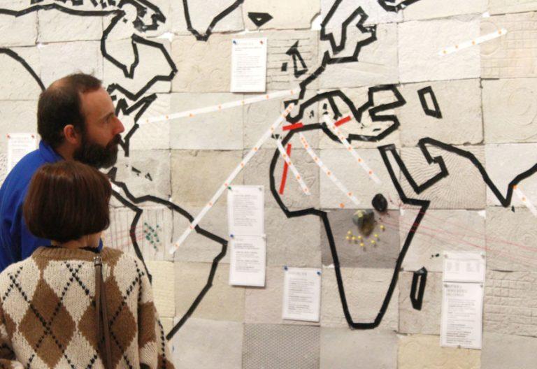 Exposición Miradas que migran