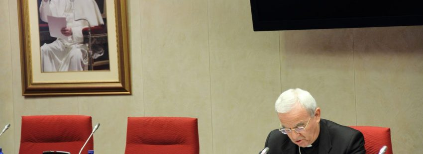 El nuncio Renzo Fratini en la apertura de la Asamblea Plenaria de 2017. Foto: Jesús G. Feria