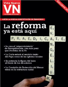 Portada de la próxima edición de Vida Nueva, que recogerá las claves de la nueva Constitución vaticana