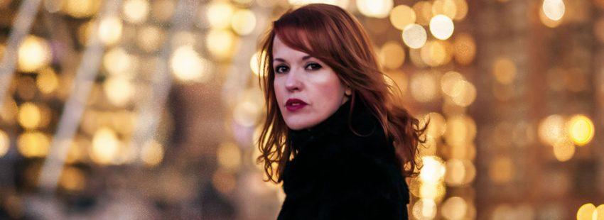 La escritora Vanessa Montfort