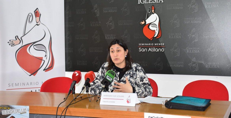 Irene Martín, coordinadora de Cristianos Sin Fronteras en Zamora