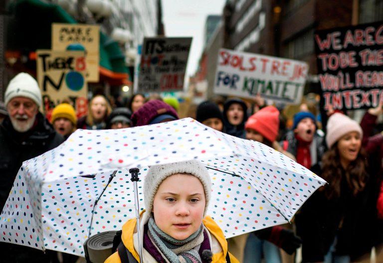 Greta Thunberg, activista cambio climático