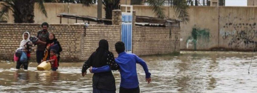 iran inundaciones
