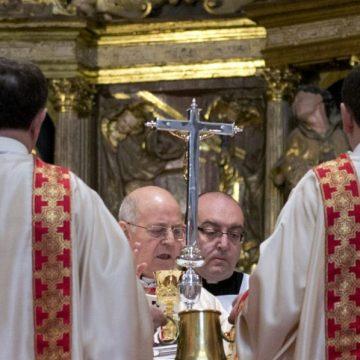 Ricardo Blázquez, en la misa crismal de Valladolid