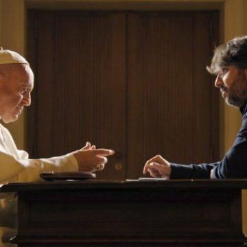 El Papa Francisco, con Jordi Évole