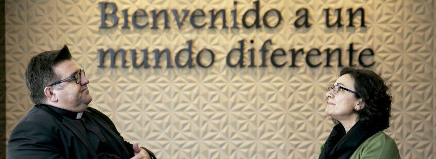 Raúl Tinajero y Mamen Hernández, pastoral juvenil de la CEE y CONFER