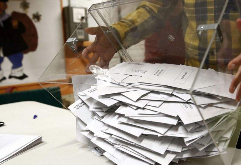 Urnas de unas elecciones generales en España
