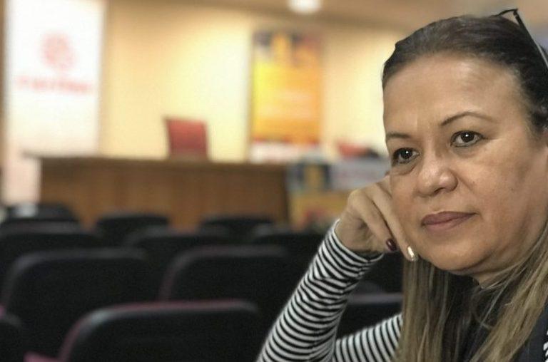 La directora de Cáritas Venezuela, Janeth Márquez