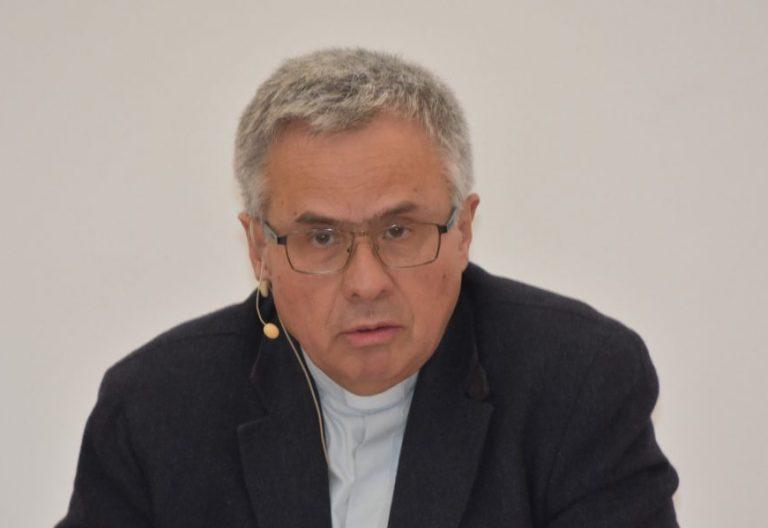 """Joan Planellas, durante el seminario internacional """"Iglesia sinodal"""" organizado por la Fundación Pablo VI"""