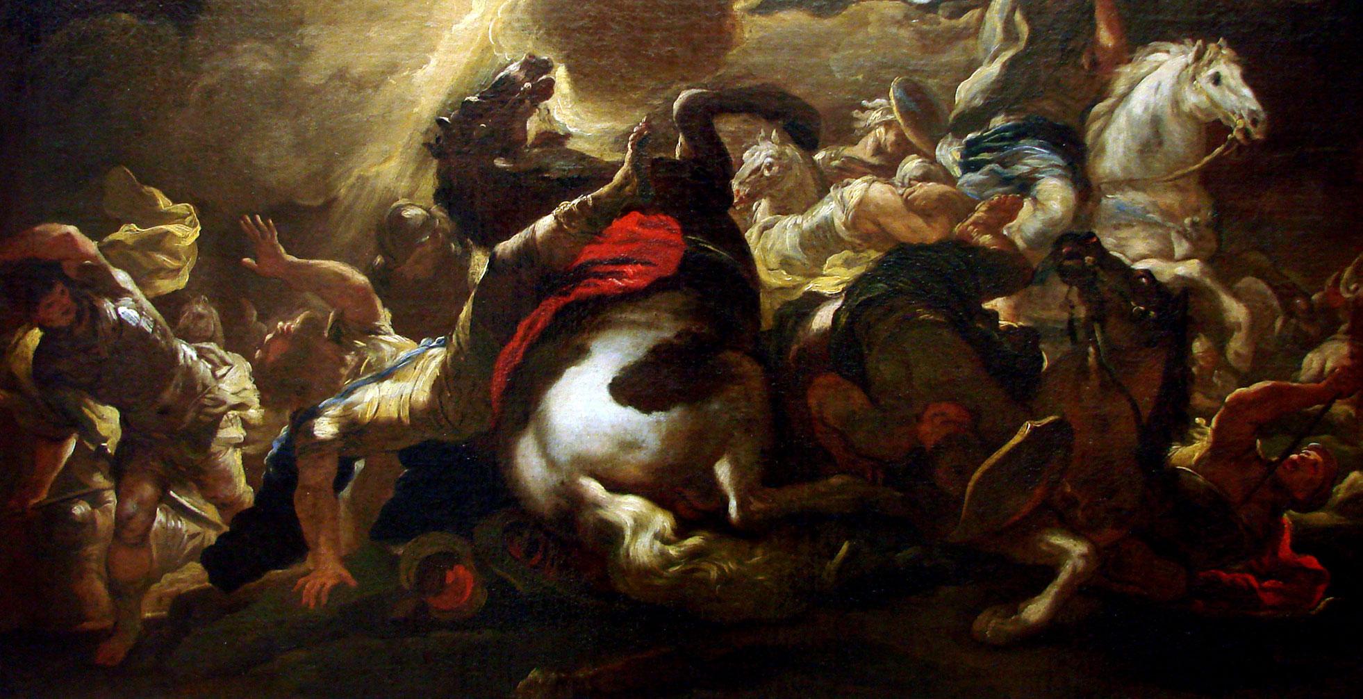 La conversión de San Pablo, de Luca Giordano