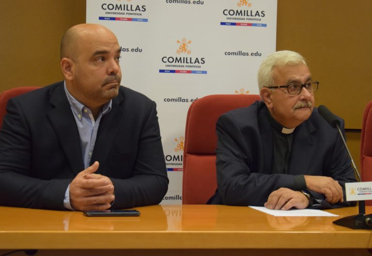 José Virtuoso, rector de la UCAB, Venezuela. Foto de Pablo Martín