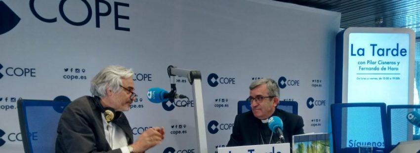Luis Argüello, en Cope