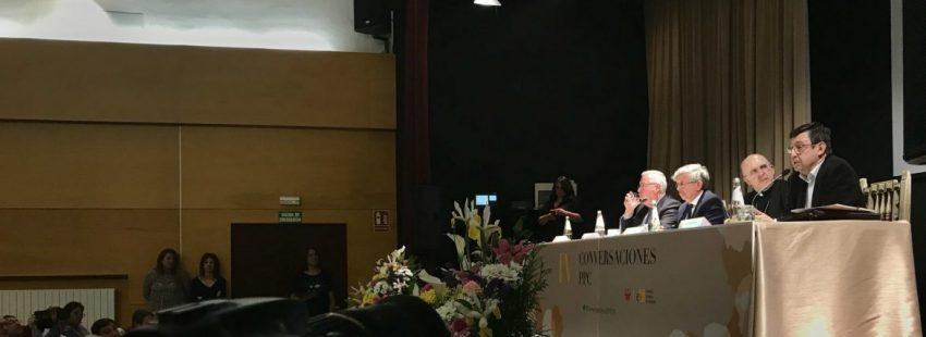 El cardenal Carlos Osoro en las Conversaciones PPC