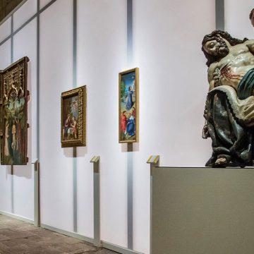 Inauguración de la XXIV edición de Las Edades del Hombre en Lerma, con la muestra 'Angeli', el 11 de abril de 2019
