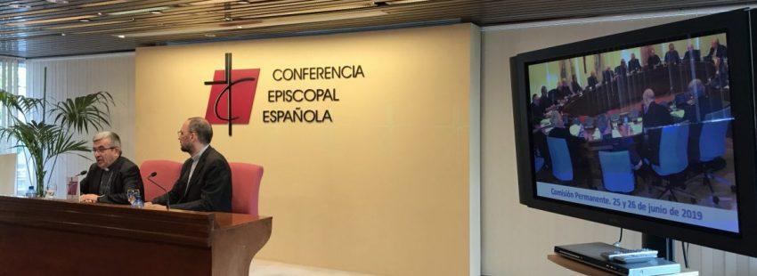 El secretario general de la Conferencia Episcopal, Luis Argüello