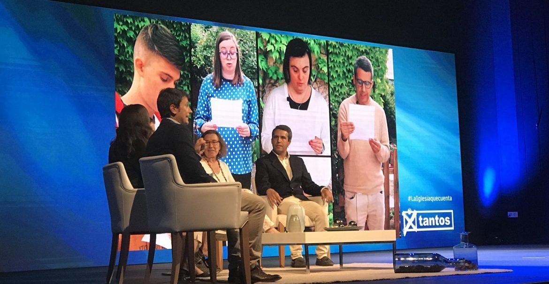 Isabel Cano presentó su proyecto con personas con discapacidad en la gala