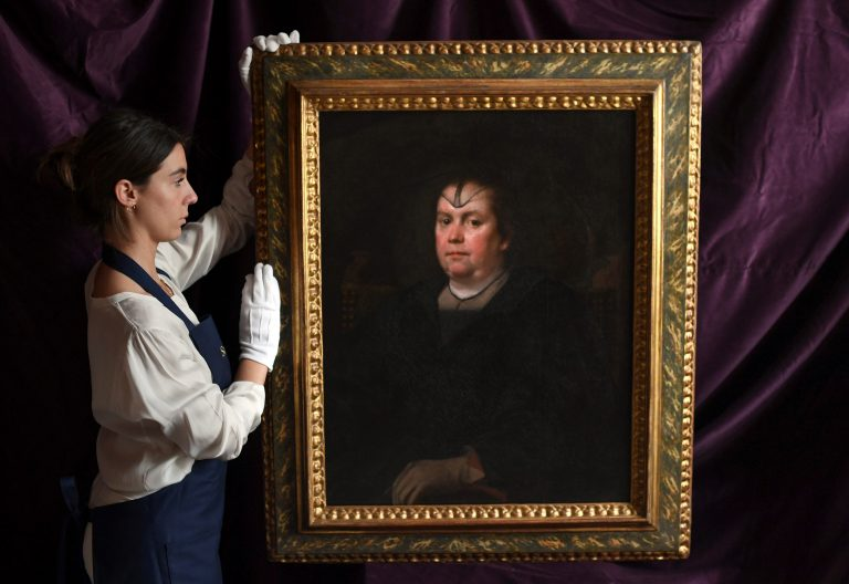 Cuadro de Olimpia, la amante de Inocencio X, obra de Velázquez