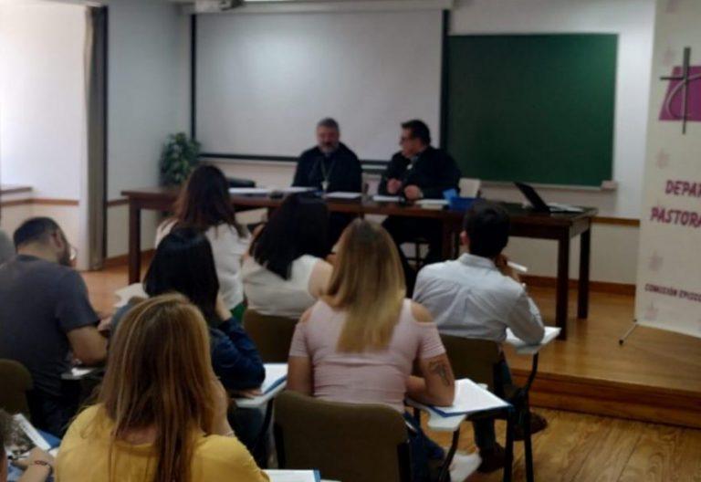 Los participantes del Seminario Nacional de Jóvenes celebrado en Valladolid