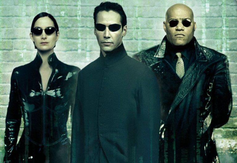 Fotograma de la película 'Matrix' (1999)