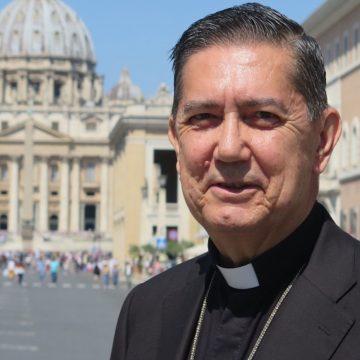 El arzobispo español Miguel Ángel Ayuso, presidente del Pontificio Consejo para el Diálogo Interreligioso