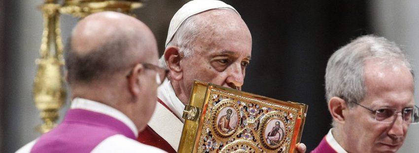 El Papa Francisco, en la fiesta de san Pedro y san Pablo/EFE