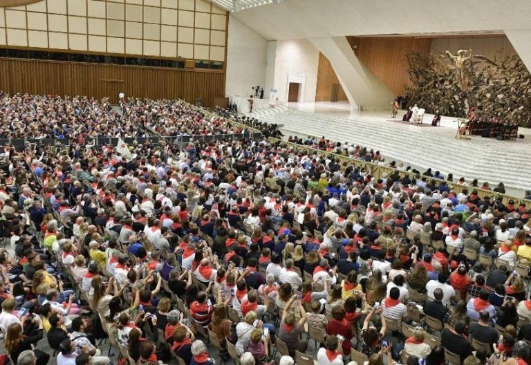 audiencia papa francisco renovacion carismatica 8 de junio 2019