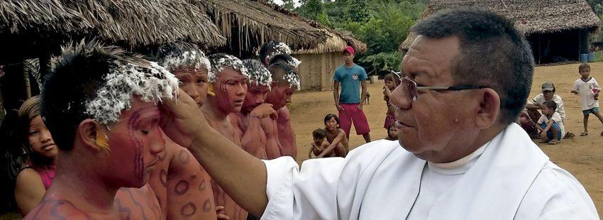 Justino Sarmento, sacerdote salesiano amazonía
