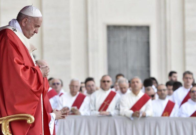 papa francisco en vigilia pentecostes 8 junio 2019