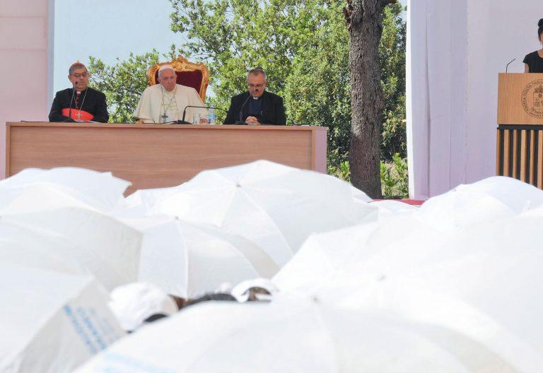 El papa Francisco visita Nápoles