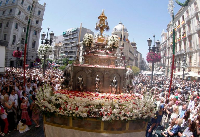 procesion del corpus christi en granada