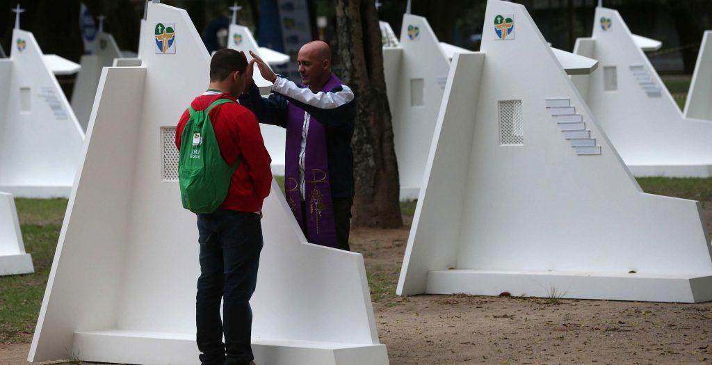 Confesión en la JMJ de Río de Janeiro