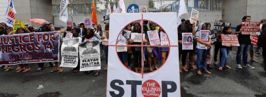 Protestas Filipinas