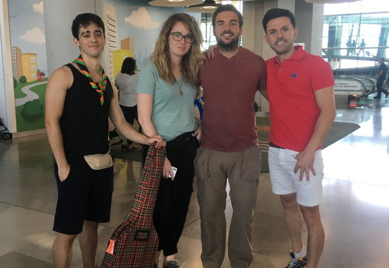 jóvenes misioneros de Valencia