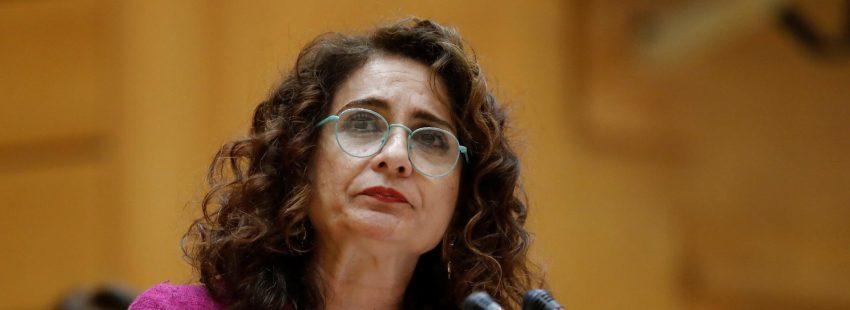 María Jesús Montero, ministra de Hacienda en el primer Gobierno socialista de Pedro Sánchez
