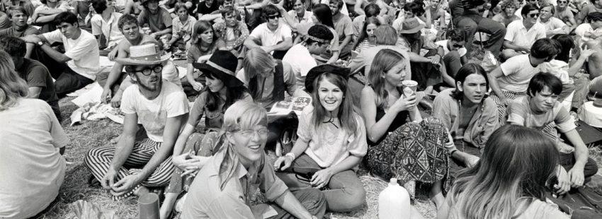 festival de woostock, celebrado en el estado de Nueva York en agosto de 1969
