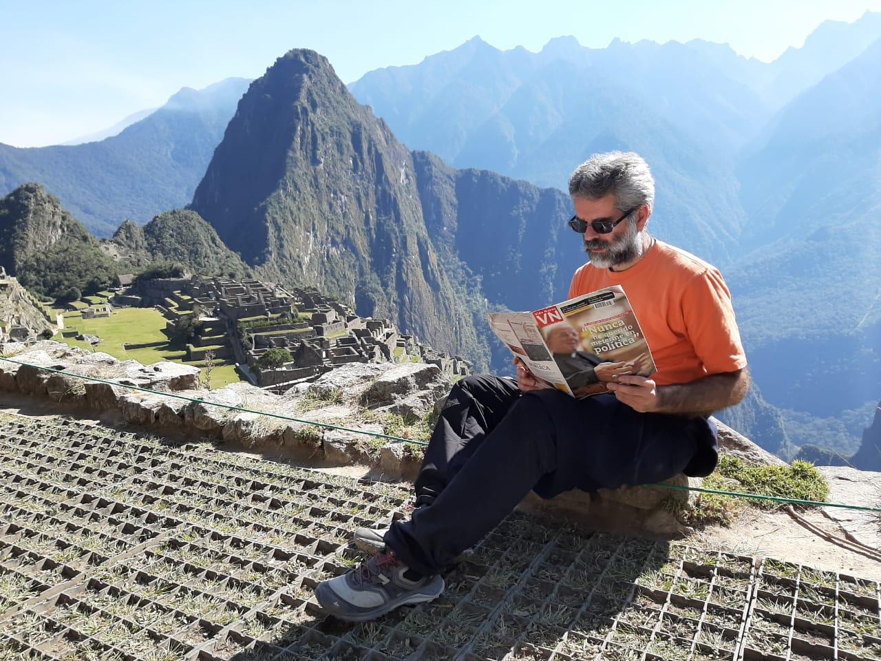 El escolapio Carles Such, en Perú