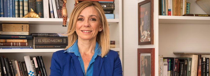 La periodista y criminóloga Concha Calleja