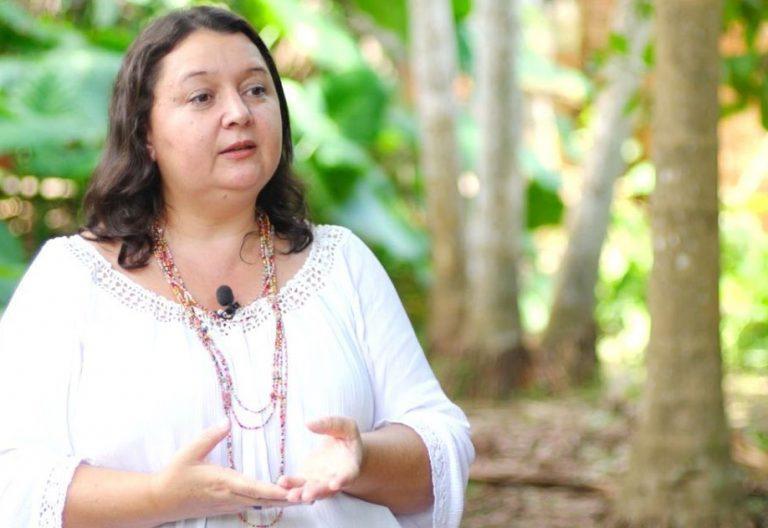 Márcia Oliveira, asesora de la REPAM
