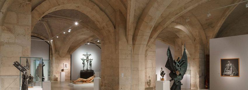 Exposición del escultor Venancio Blanco en la catedral de Burgos