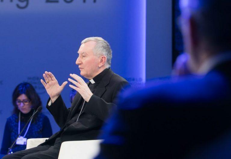 El cardenal Pietro Parolin, en una imagen de archivo/ World Economic Forum-Ciaran McCrickard