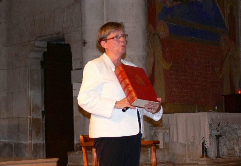 La teóloga francesa Isabelle Parmentier