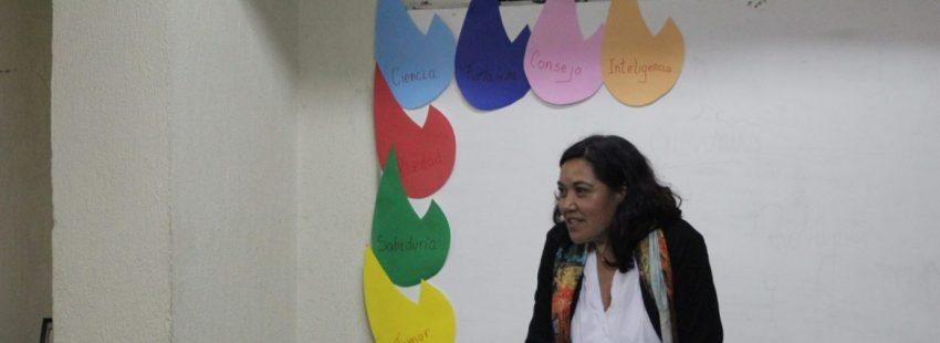 La teóloga Sandra Arenas