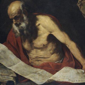 San Jerónimo en la cueva de Belén