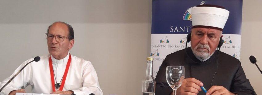 Alejandro Solalinde, en el Encuentro por la Paz de Sant´Egidio