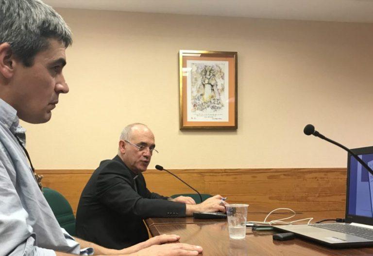 Luis Alfonso Zamorano y Arturo Ros