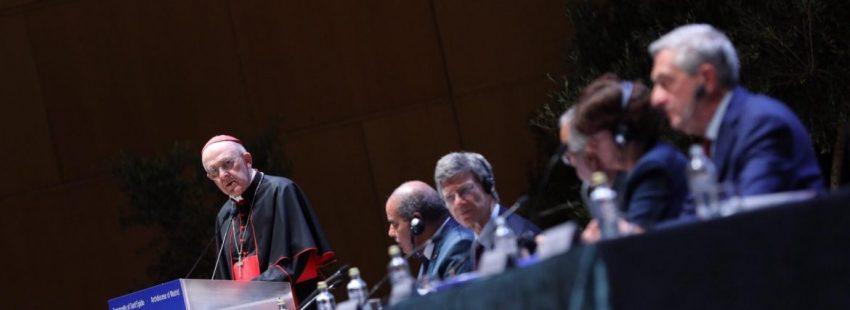 El cardenal Osoro, en el Encuentro por la Paz