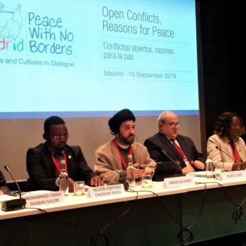 Mesa redonda del Encuentro por la Paz 2019 sobre 'Conflictos abiertos, razones para la paz'