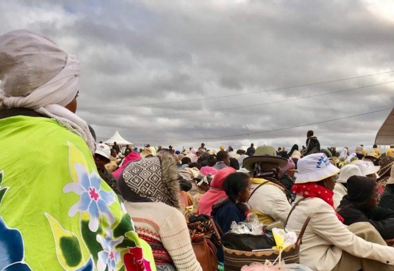 Casi un millón de personas participaron en la eucaristía con el Papa en Madagascar